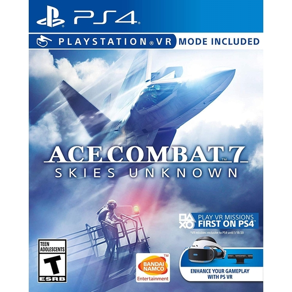 Ace Combat 7 Skies Unknown PS4 Game