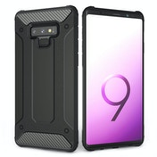 CASEFLEX SAMSUNG GALAXY NOTE 9 ARMOURED SHOCKPROOF CARBON CASE - BLACK