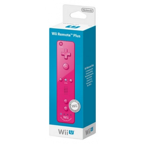 Official Nintendo Wii Remote Plus Control In Pink Wii U