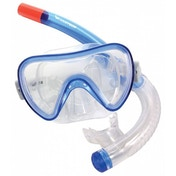 Divetech Atlantis Youths Mask & Snorkel Blue