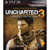 Uncharted 3 Drakes Deception Game Of The Year (GOTY) Edition PS3
