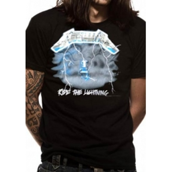 68a5a4e9 Hey! Stay with us... Metallica Ride The Lightning T-Shirt Small ...