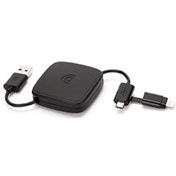 Griffin Retractable Micro USB & Lightning Charge Sync Cable