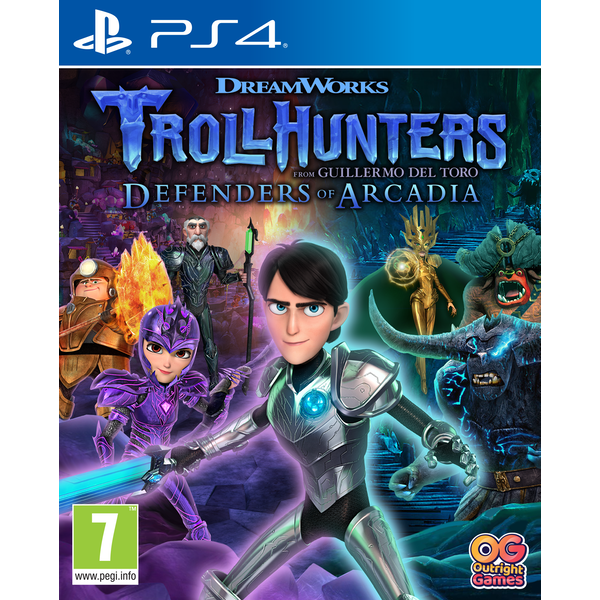 Troll Hunters Defenders of Arcadia PS4 Game - Image 1