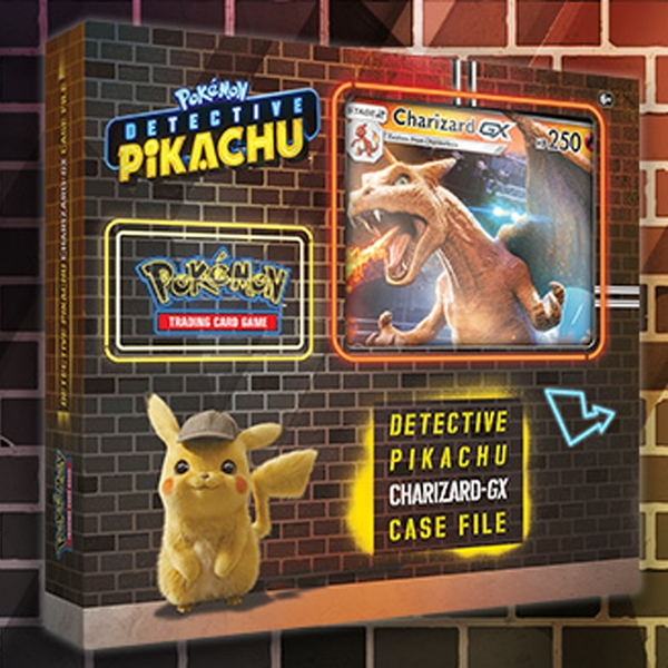 Pokemon Tcg Detective Pikachu Charizard Gx Case File Shop4de Com