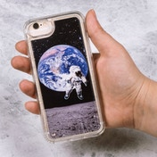 Thumbs Up! Floating Astronaut Case for iPhone 6/6S & 7