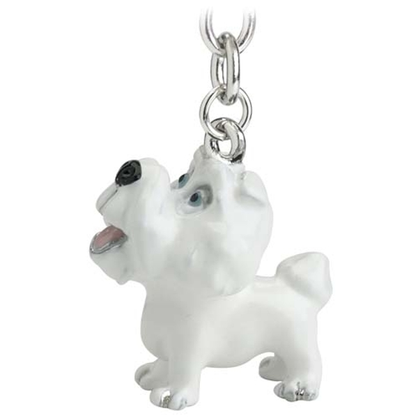 Little Paws Key Ring Bichon Frise