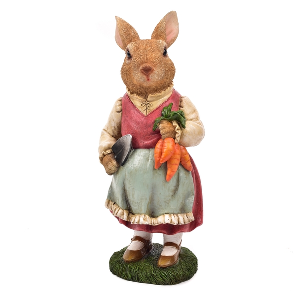 Country Living Dressed Rabbit Ornament