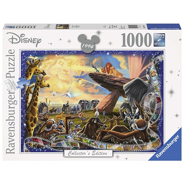 Ravensburger Disney Collector's Edition Lion King 1000 Piece Jigsaw Puzzle