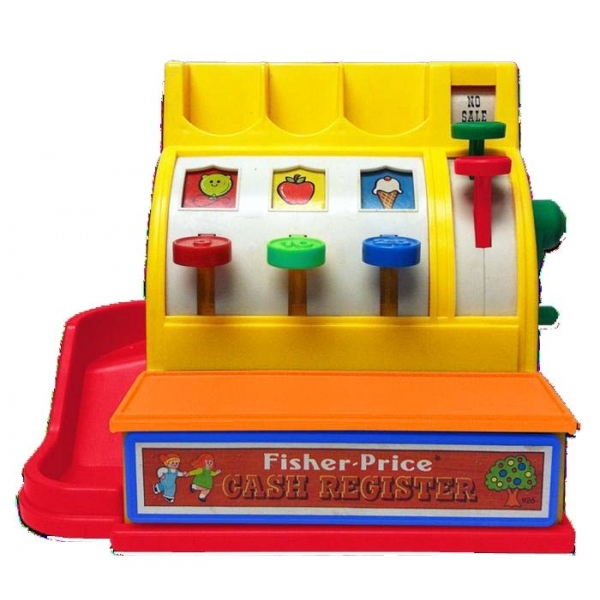 Fisher Price Classics Cash Register