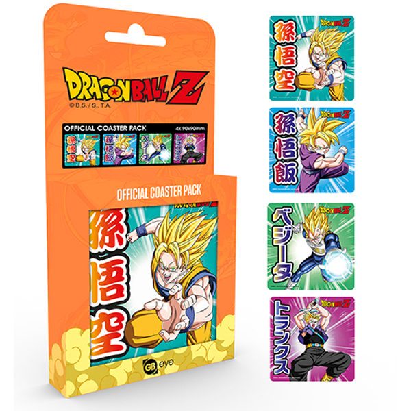 Dragon Ball Z Mix Coaster Pack - Image 1