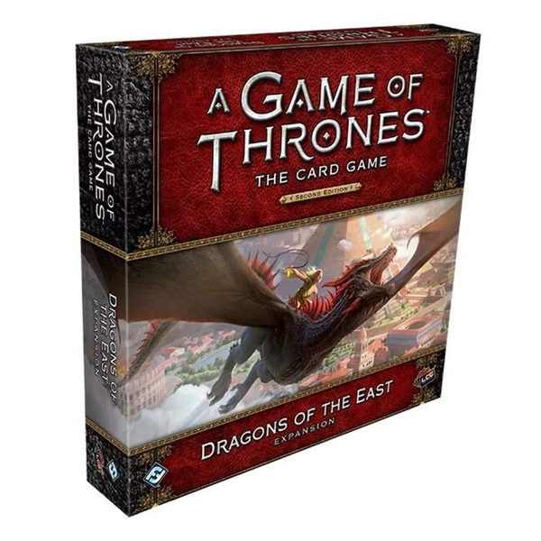 A Game of Thrones LCG 2nd Edition Dragons of the East Deluxe Expansion