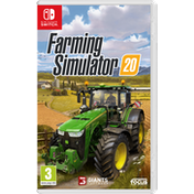 Farming Simulator 20 Nintendo Switch Game