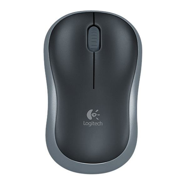 Image of Logitech M185 Grey Wireless Full Size Optical Mouse