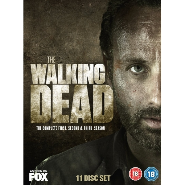 The Walking Dead Season 1-3 DVD