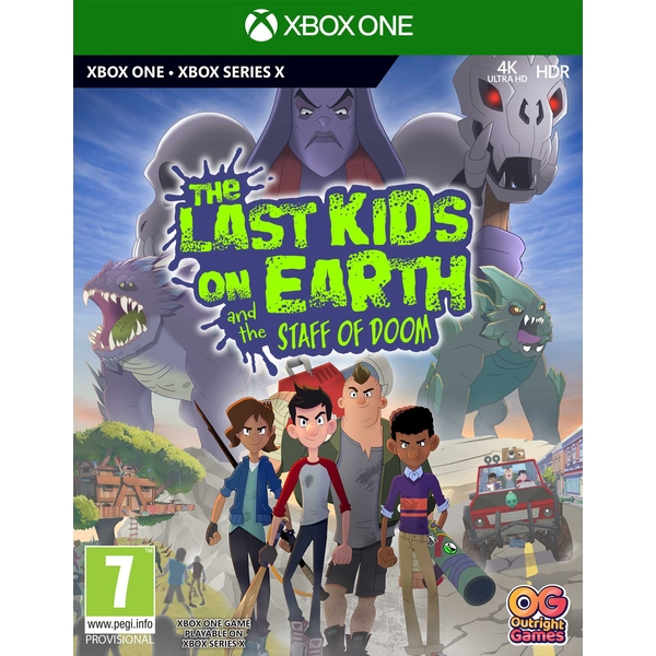 The Last Kids on Earth and the Staff of Doom Xbox One | Xbox Series X Game