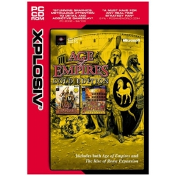 Age of Empires Gold Edition Game PC