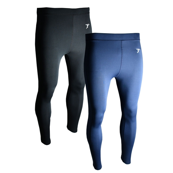 Precision Essential Base-Layer Leggings Navy - L Junior 26-28""