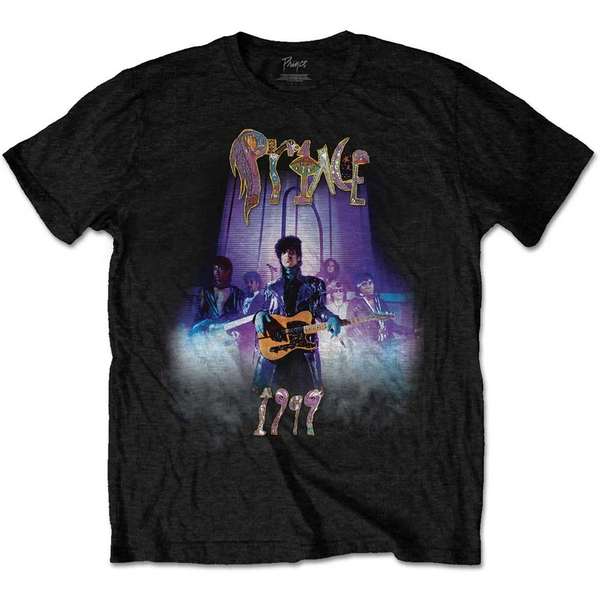 Prince - 1999 Smoke Men's X-Large T-Shirt - Black