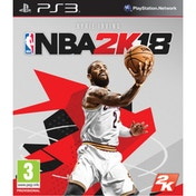 NBA 2K18 PS3 Game