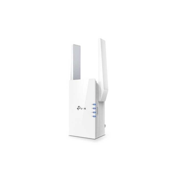 TP-LINK (RE505X) AX1500 (300+1200) Dual Band Wall-Plug Wi-Fi Range Extender 1 x GB LAN AP Mode UK Plug