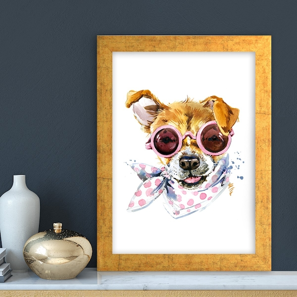 AC493599481 Multicolor Decorative Framed MDF Painting