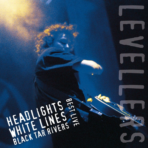 Levellers - Headlights. White Lines. Black Tar Rivers Midnight Blue  Vinyl