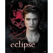 Neca Twilight Eclipse - Edward Crest Mini Poster
