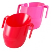 Doidy Training Cup Pink + Doidy Training Cup Red