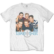 Take That - Group Hug Men's Large T-Shirt - White