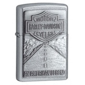 Zippo Street Chrome Harley Davidson USA Windproof Lighter