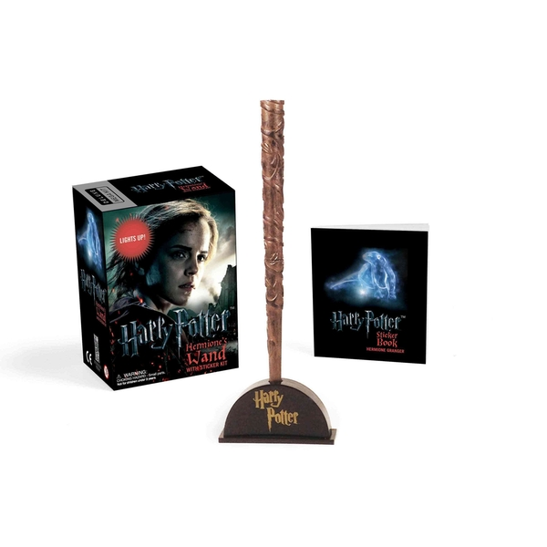 Harry Potter Hermione's Wand with Sticker Kit : Lights Up!