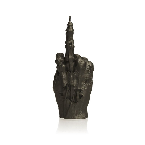 Black Zombie Hand FCK Candle