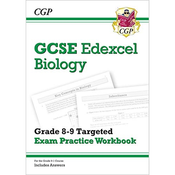 New GCSE Biology Edexcel Grade 8-9 Targeted Exam Practice Workbook (includes Answers)  Paperback / softback 2018