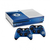 Official Chelsea FC Xbox One S Console Skin and 2x Controller Skin Combo Pack
