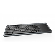 Rapoo K2600 2.4GHz Wireless Multimedia Keyboard Grey UK Layout