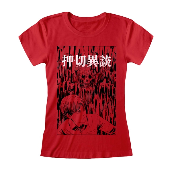Junji-Ito - Dripping Women's Large T-Shirt - Red