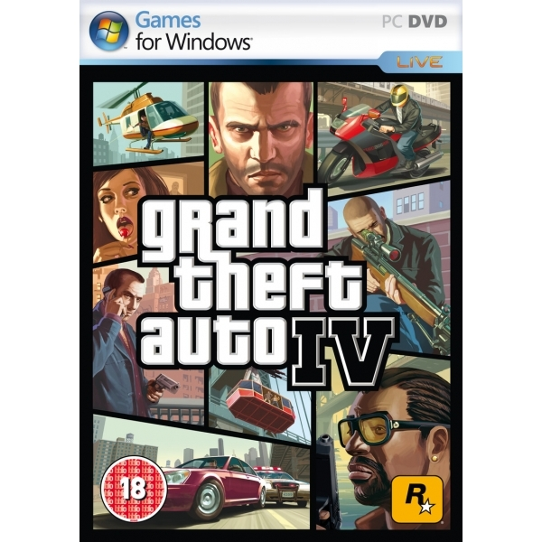 Grand Theft Auto IV 4 GTA Game PC