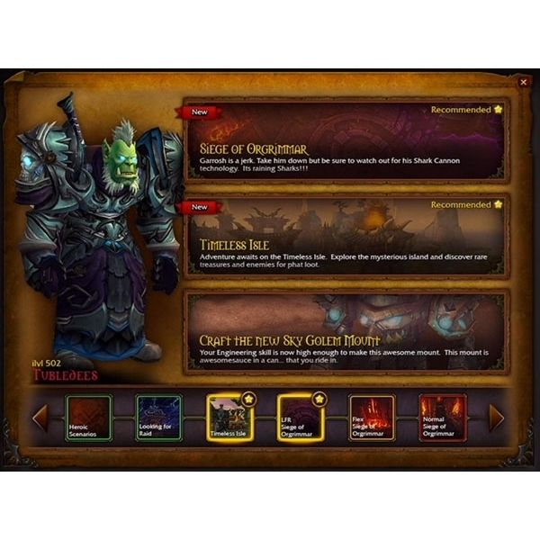 World of Warcraft Warlords of Draenor Collector's Edition Expansion PC Game - Image 4