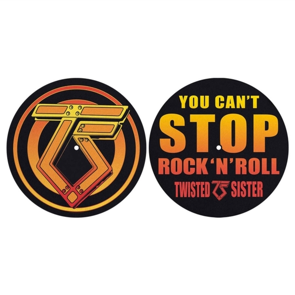 Twisted Sister - You Cant Stop Rock n Roll Slipmat Set