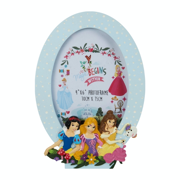 Disney Princess Frame Snow White, Rapunzel & Belle