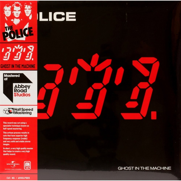 The Police - Ghost In The Machine Vinyl
