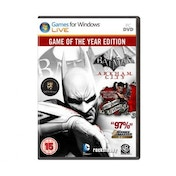 Batman Arkham City Game of the Year Edition GOTY Game PC