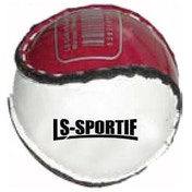 Hurling Club and County Sliotar Ball  Junior  Maroon/White