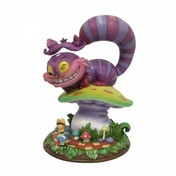 Disney Cheshire Cat and Alice Figurine by Miss Mindy