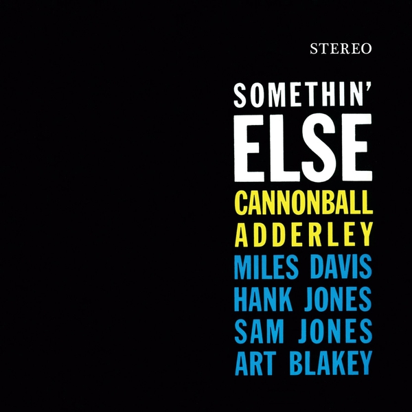 Cannonball Adderley - Somethin Else Limited Solid Orange  Vinyl