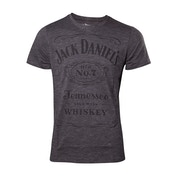 Jack Daniels - Classic Logo Men's Medium T-Shirt - Grey
