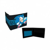 Sonic Running Wallet Black Bifold