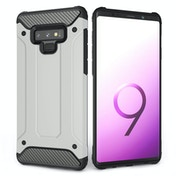 CASEFLEX SAMSUNG GALAXY NOTE 9 ARMOURED SHOCKPROOF CARBON CASE - GUN GREY