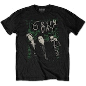 Green Day - Green Lean Men's XX-Large T-Shirt - Black